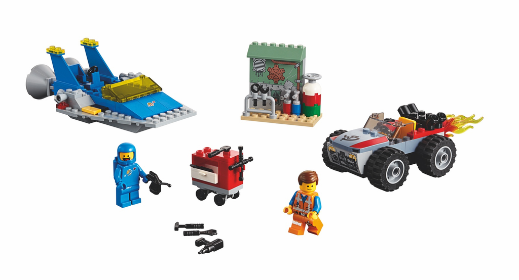 LEGO 70821 Emmet and Benny's 'Build and Fix' Workshop!
