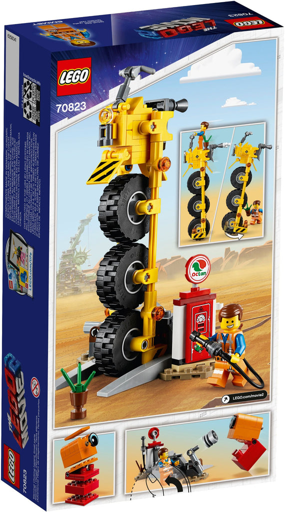 LEGO 70823 Emmet's Thricycle!