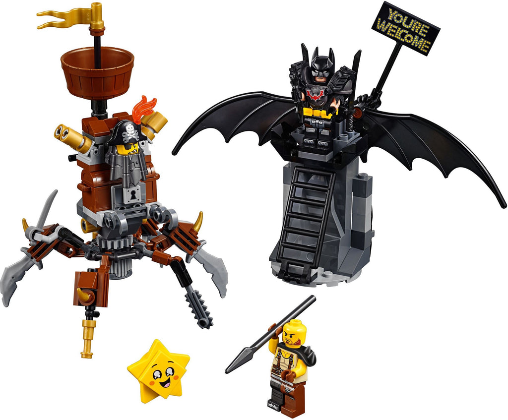 LEGO 70836 Battle-Ready Batman and MetalBeard