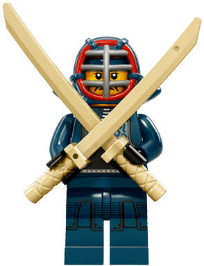 LEGO 71011-12 Minifigure Series 15 - Kendo Fighter