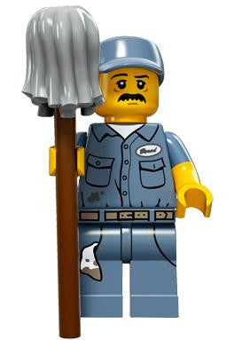 LEGO 71011-09 Minifigure Series 15 - Janitor