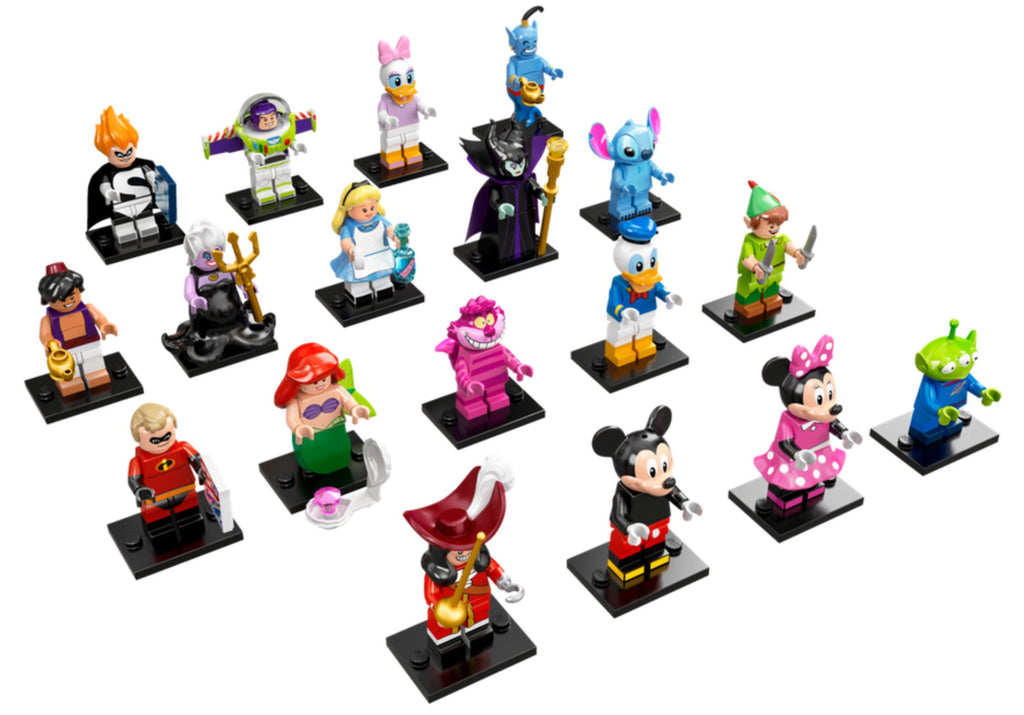 LEGO 71012 Minifigure The Disney Series Complete set