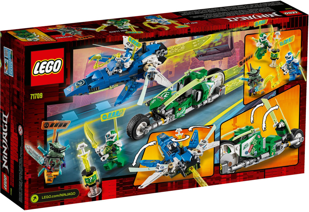 LEGO 71709 Jay and Lloyd's Velocity Racers