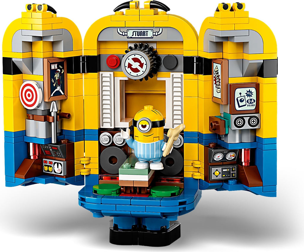 LEGO 75551 Brick-built Minions and their Lair