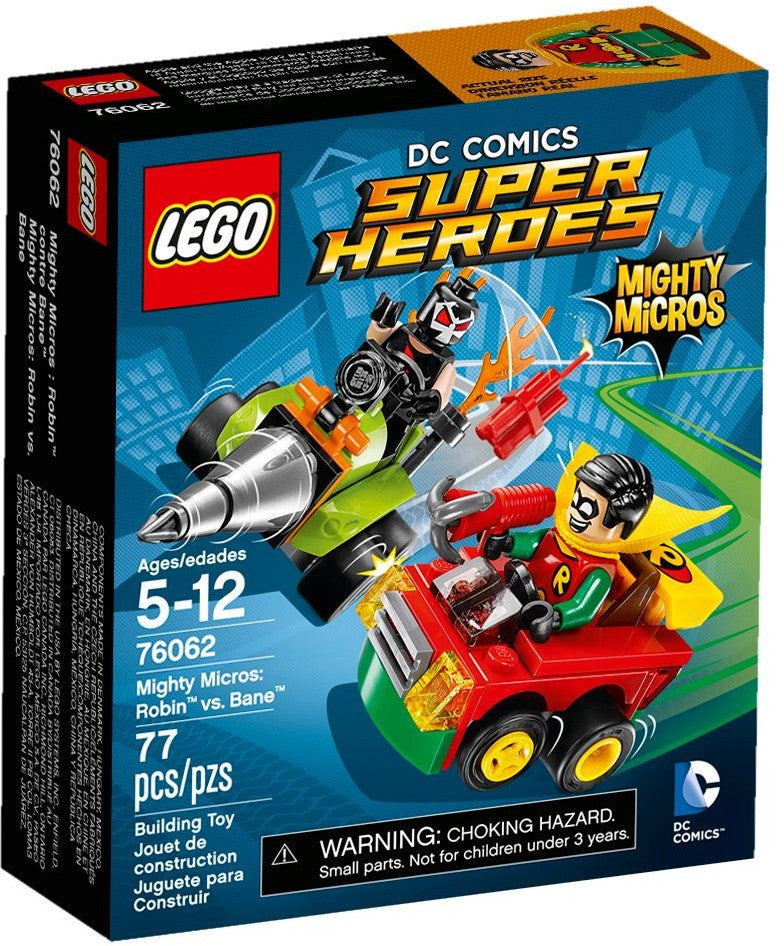 LEGO 76062 Mighty Micros: Robin vs. Bane
