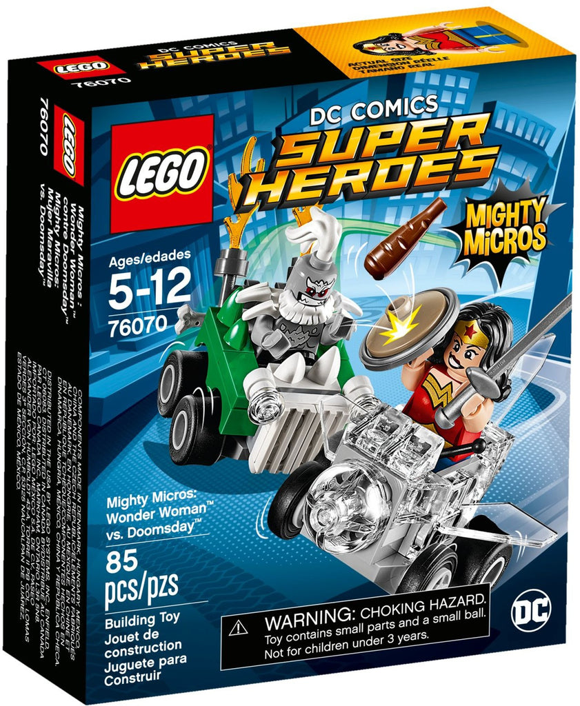 LEGO 76070 Mighty Micros: Wonder Woman vs Doomsday