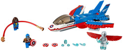 LEGO 76076 Captain America Jet Pursuit