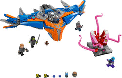 LEGO 76081 The Milano vs. The Abilisk