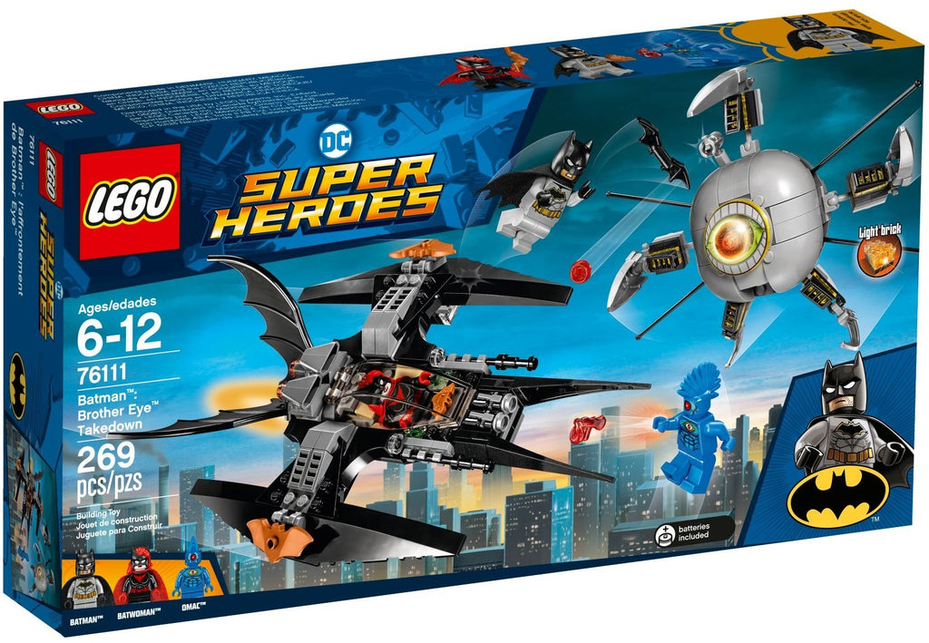 LEGO 76111 Batman: Brother Eye Takedown