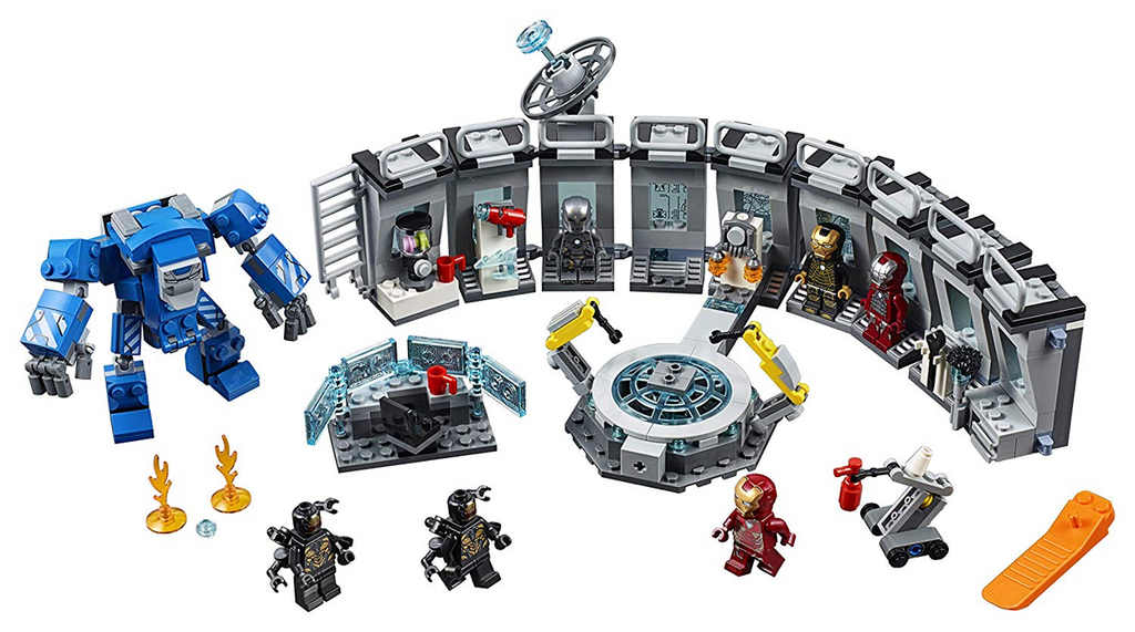 LEGO 76125 Iron Man Hall of Armour
