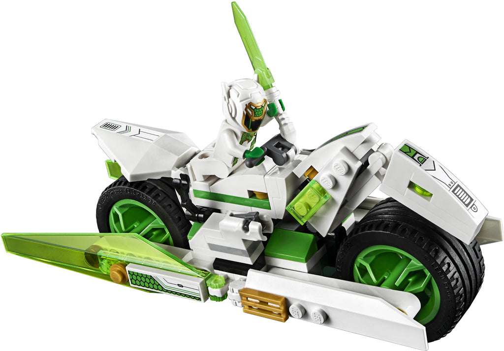 LEGO 80006 White Dragon Horse Bike