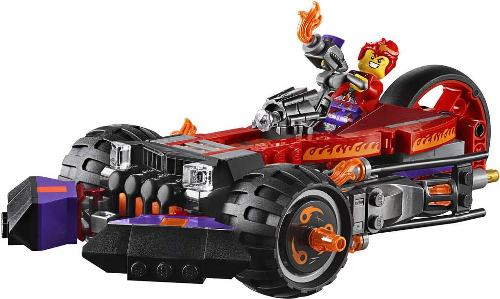 LEGO 80011 Red Son's Inferno Truck