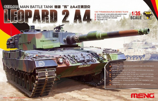 1/35 German Main Battle Tank Leopard 2 A4