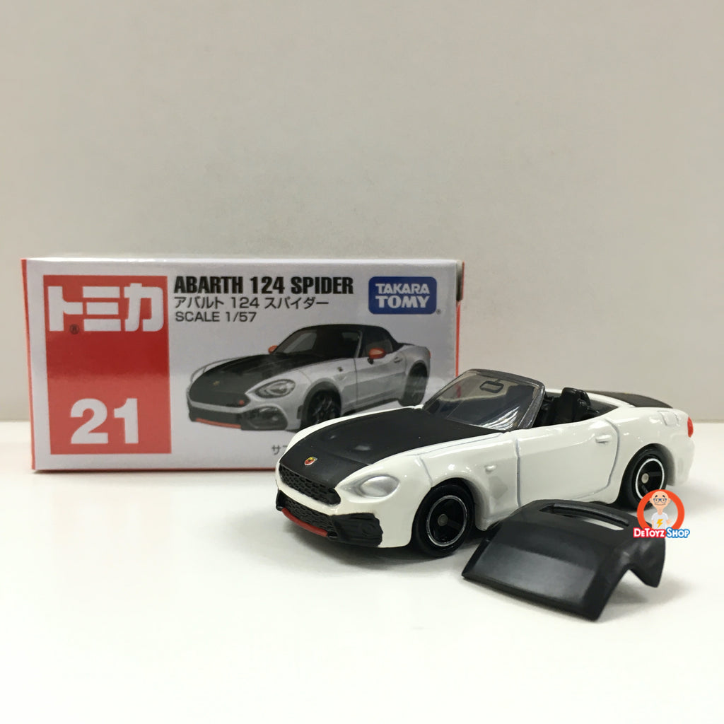 Tomica #21 Abarth 124 Spider