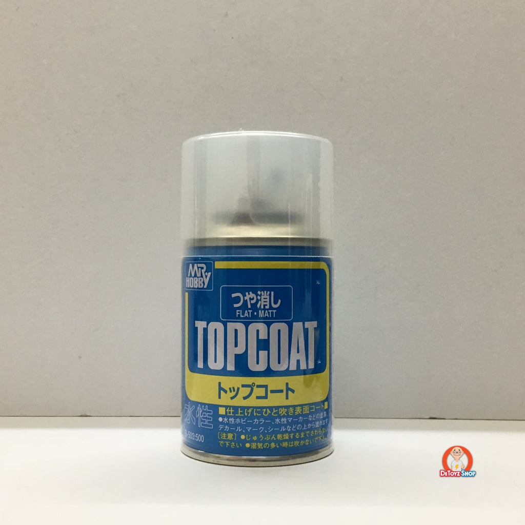 Mr Hobby Mr Top Coat (Flat) 86ml