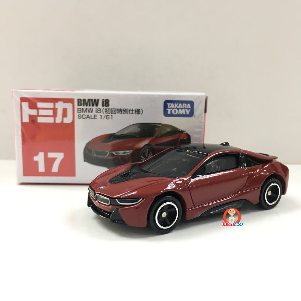 Tomica #017 BMW i8 (Initial Release)