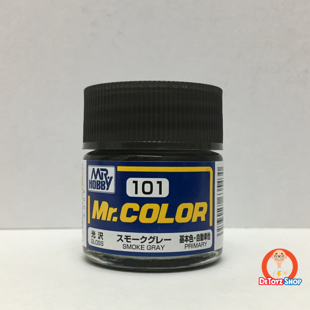 Mr Color C-101 Smoke Gray Gloss Primary (10ml)