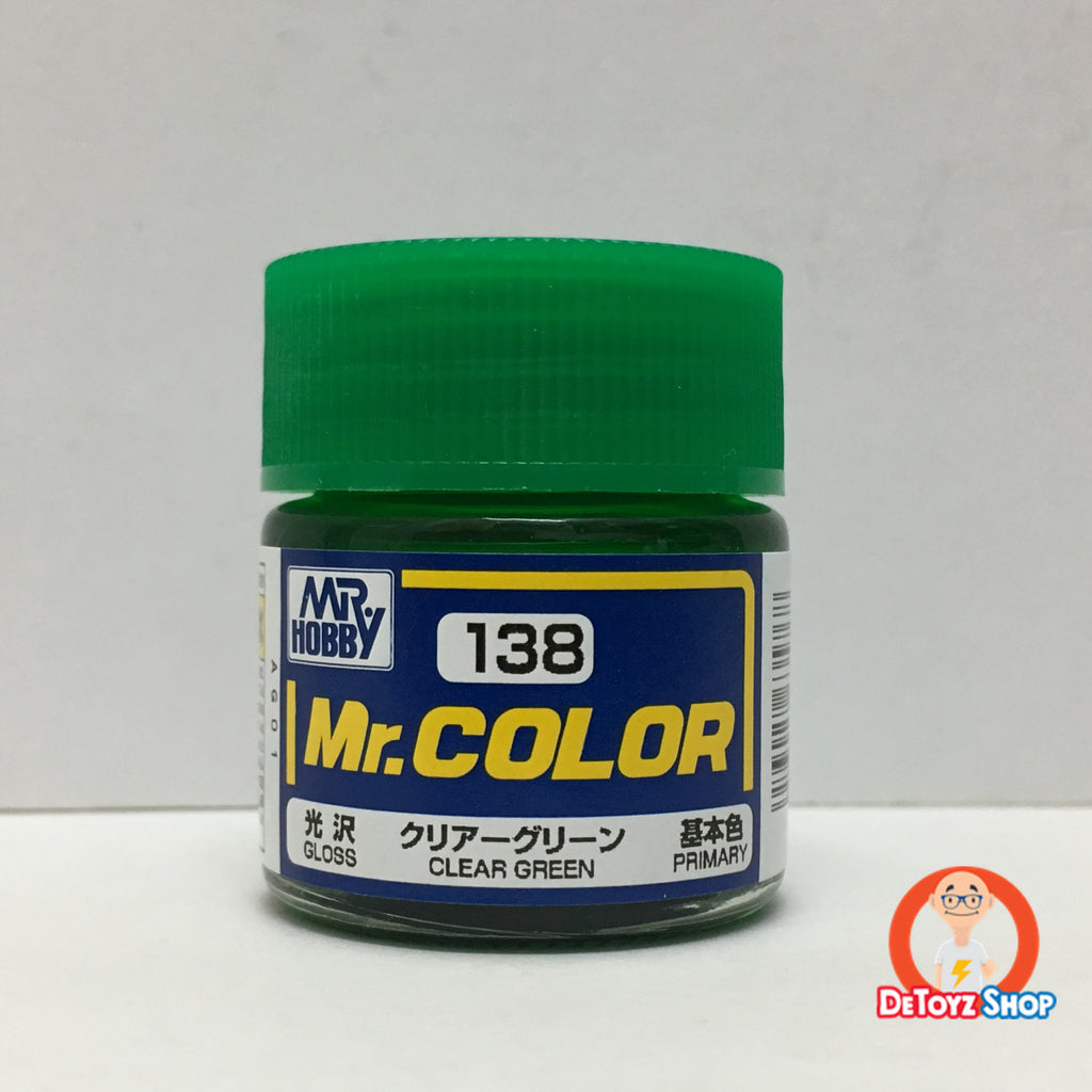 Mr Color C-138 Clear Green Gloss Primary (10ml)