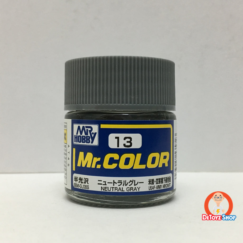 Mr Color C-13 Neutral Gray Semi-Gloss (10ml)