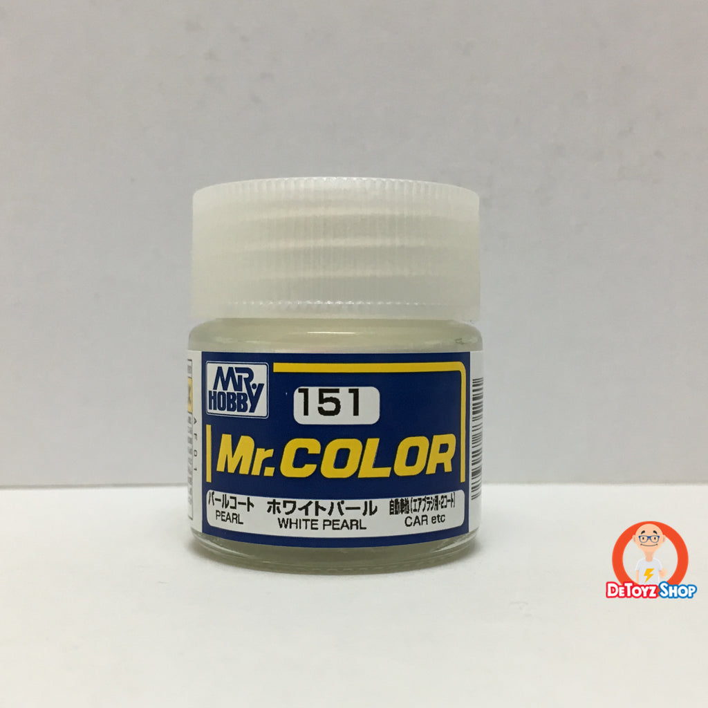 Mr Color C-151 White Pearl Pearl Car (10ml)