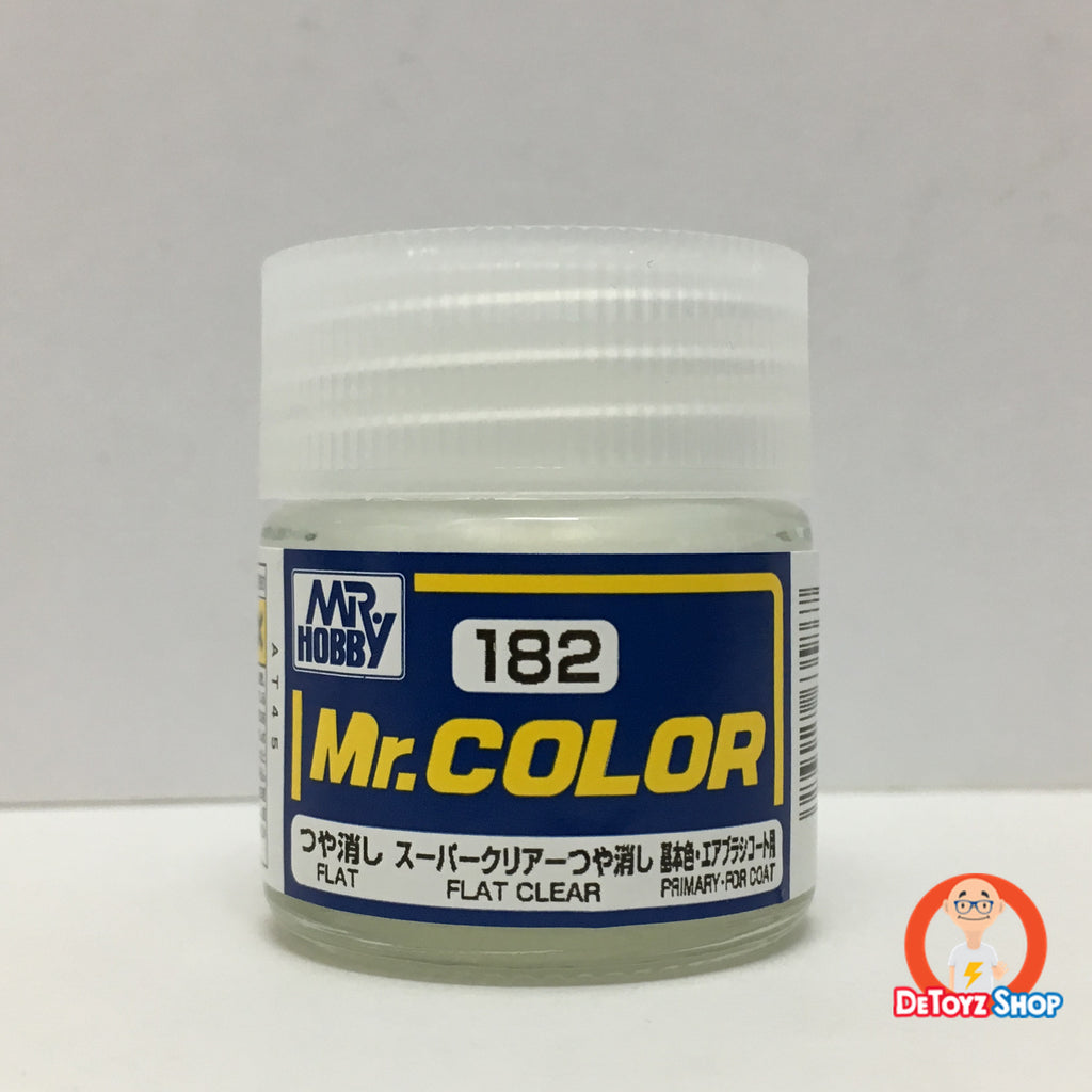 Mr Color C-182 Flat Super Clear Flat Primary-For Coating (10ml)