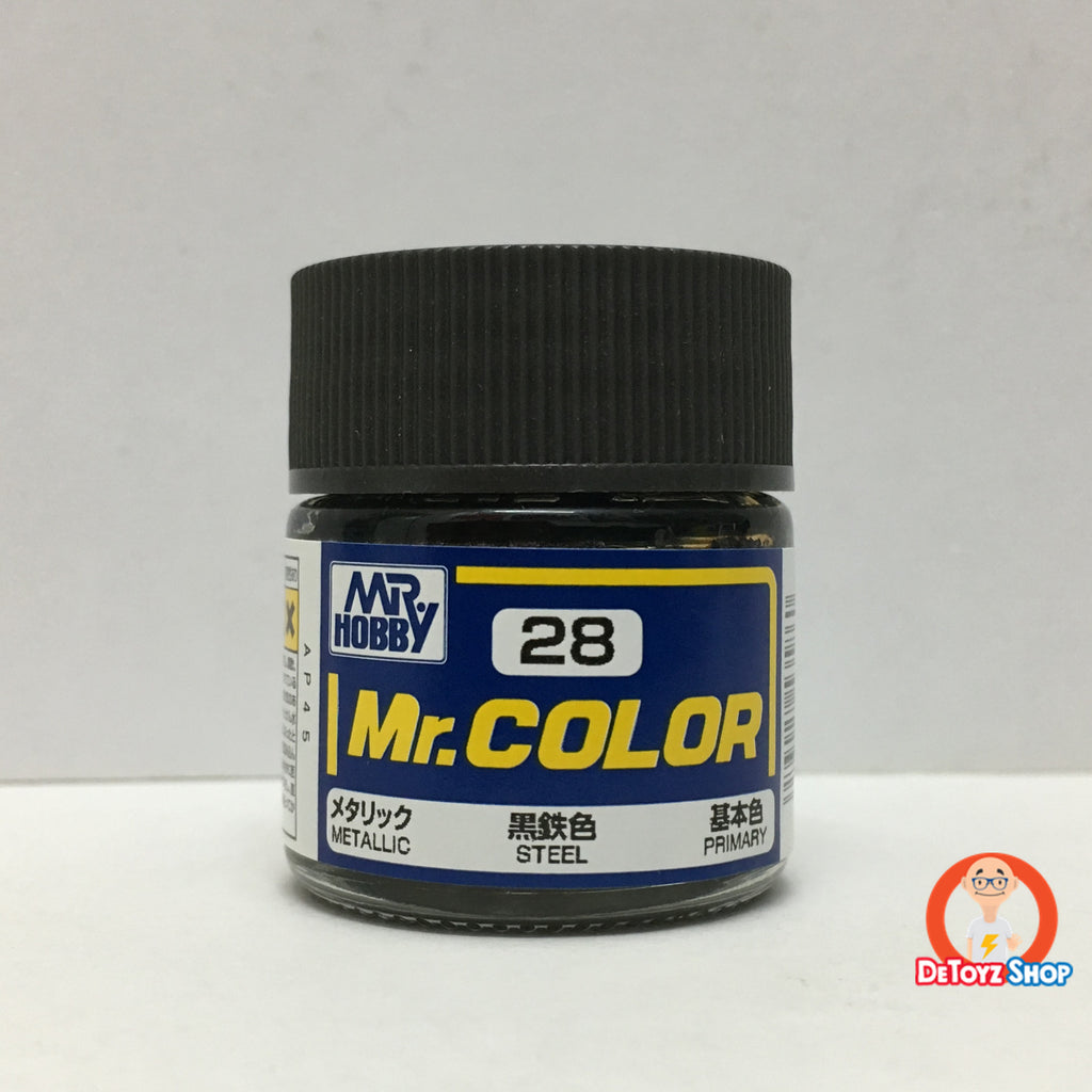 Mr Color C-28 Steel Metallic Primary (10ml)
