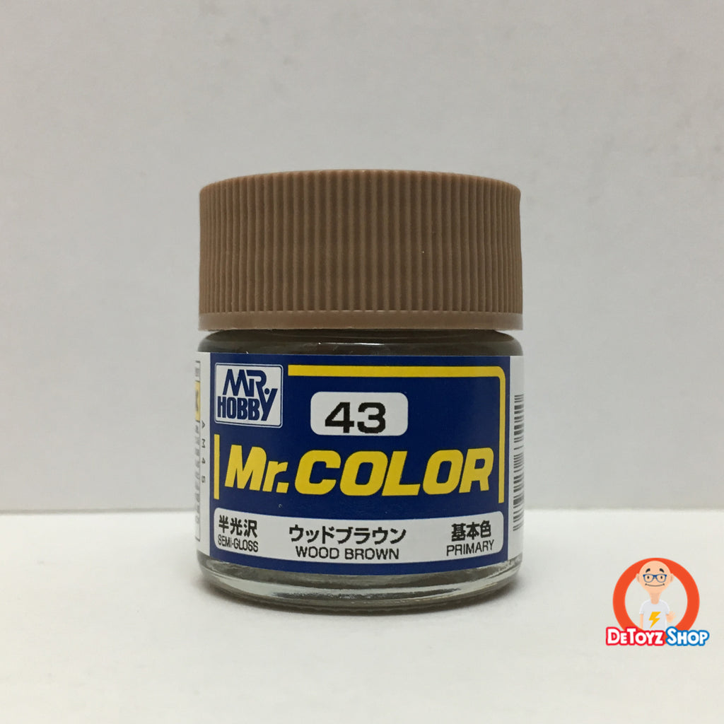 Mr Color C-43 Wood Brown Semi-Gloss Primary (10ml)