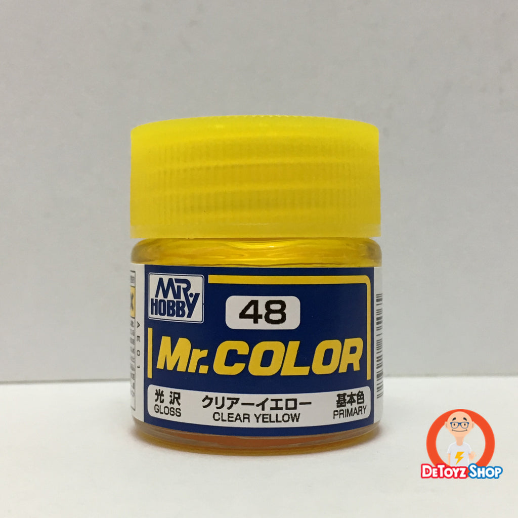 Mr Color C-48 Clear Yellow Gloss Primary (10ml)