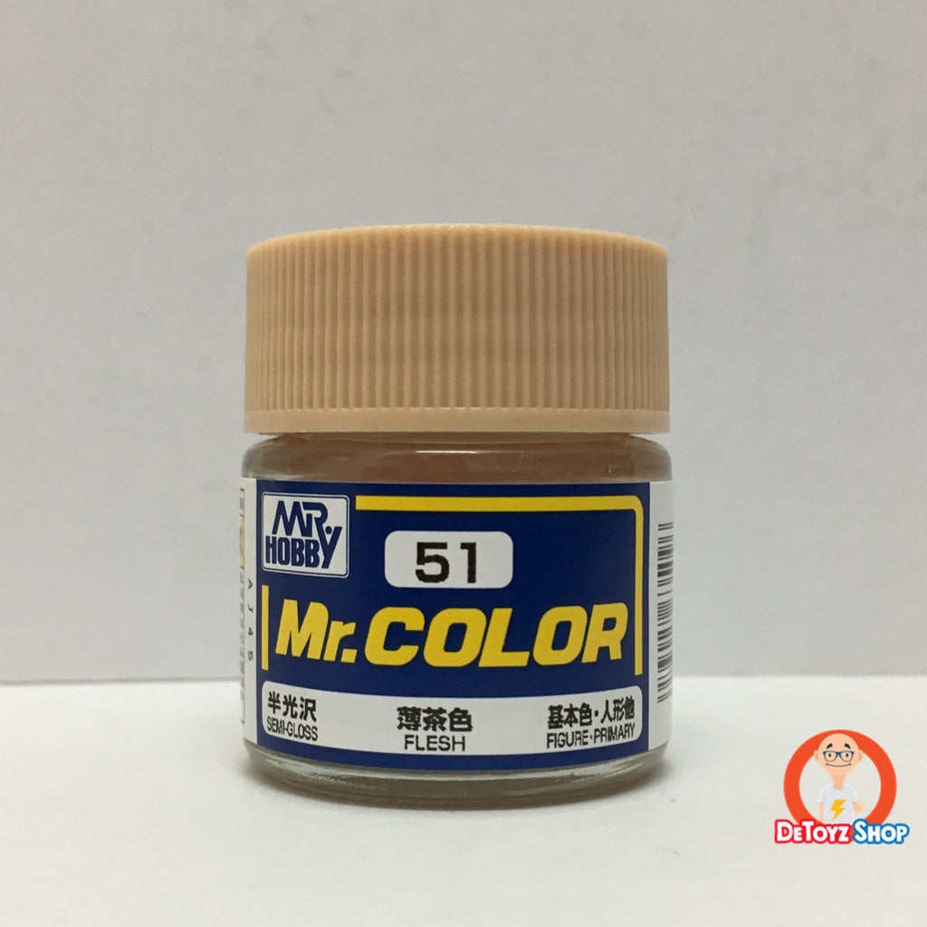 Mr Color C-51 Flesh Semi-Gloss Figure Primary (10ml)