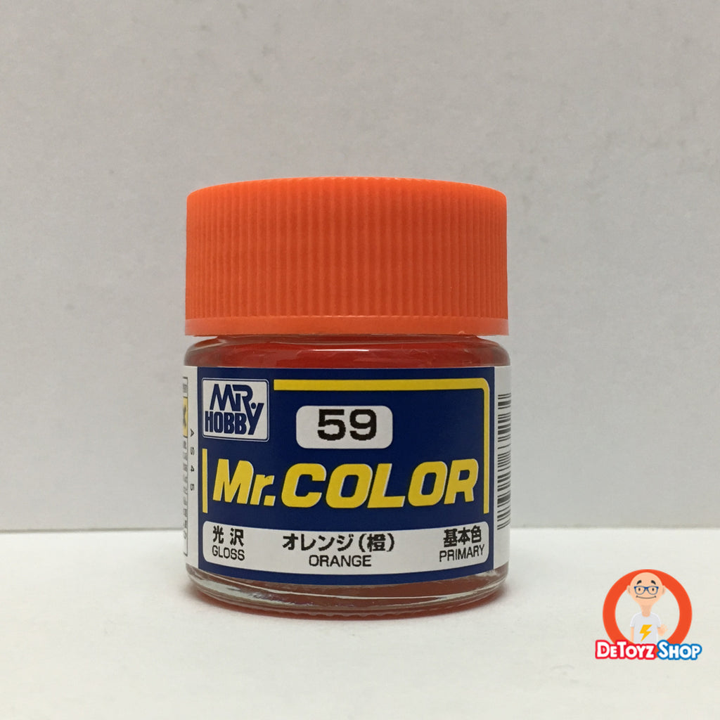 Mr Color C-59 Orange Gloss Primary (10ml)