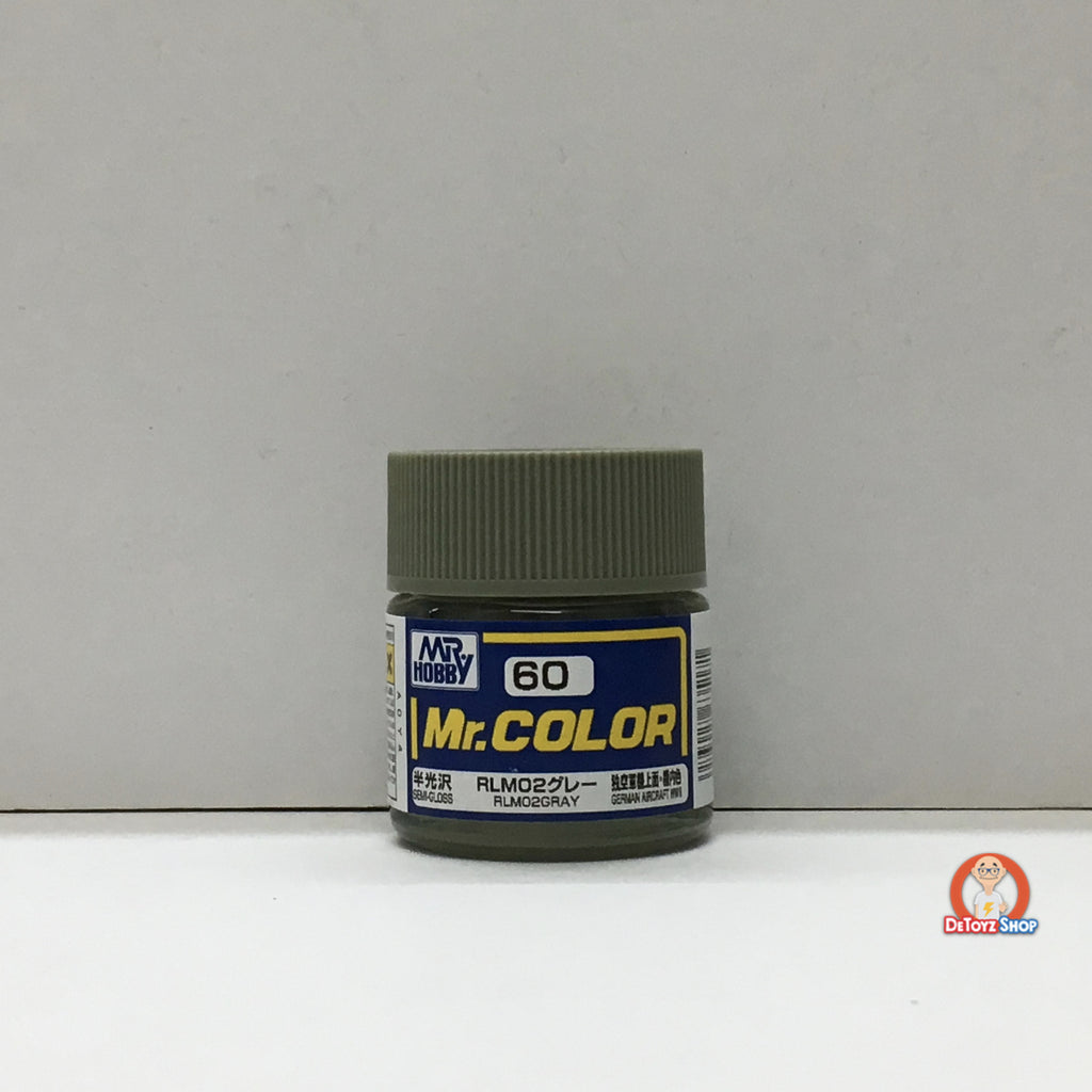 Mr Color C-60 RLM02 Gray Semi Gloss (10ml)