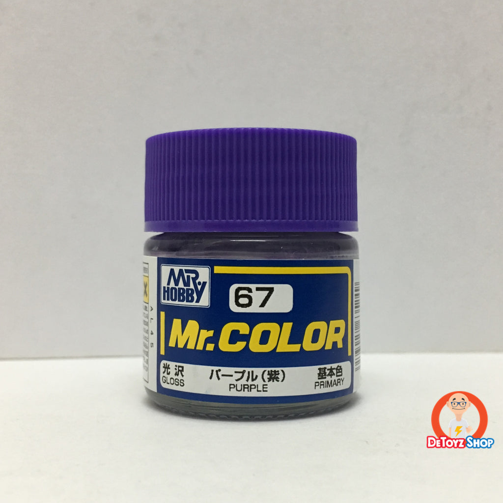 Mr Color C-67 Purple Gloss Primary (10ml)
