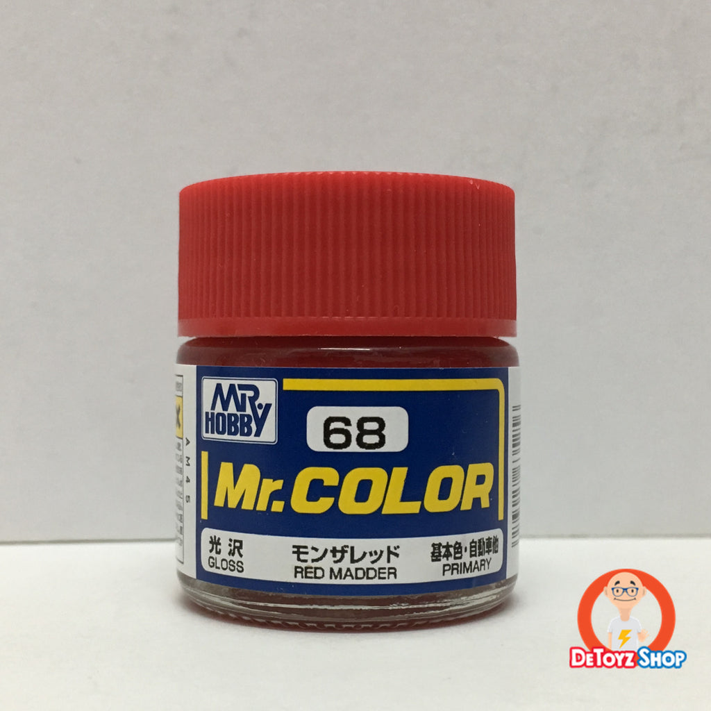 Mr Color C-68 Red Madder Gloss Primary (10ml)