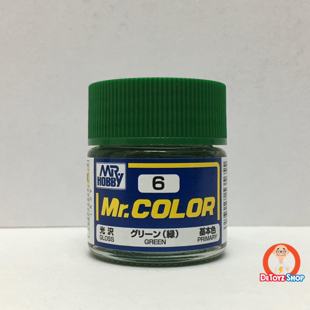 Mr Color C-6 Green Gloss Primary (10ml)