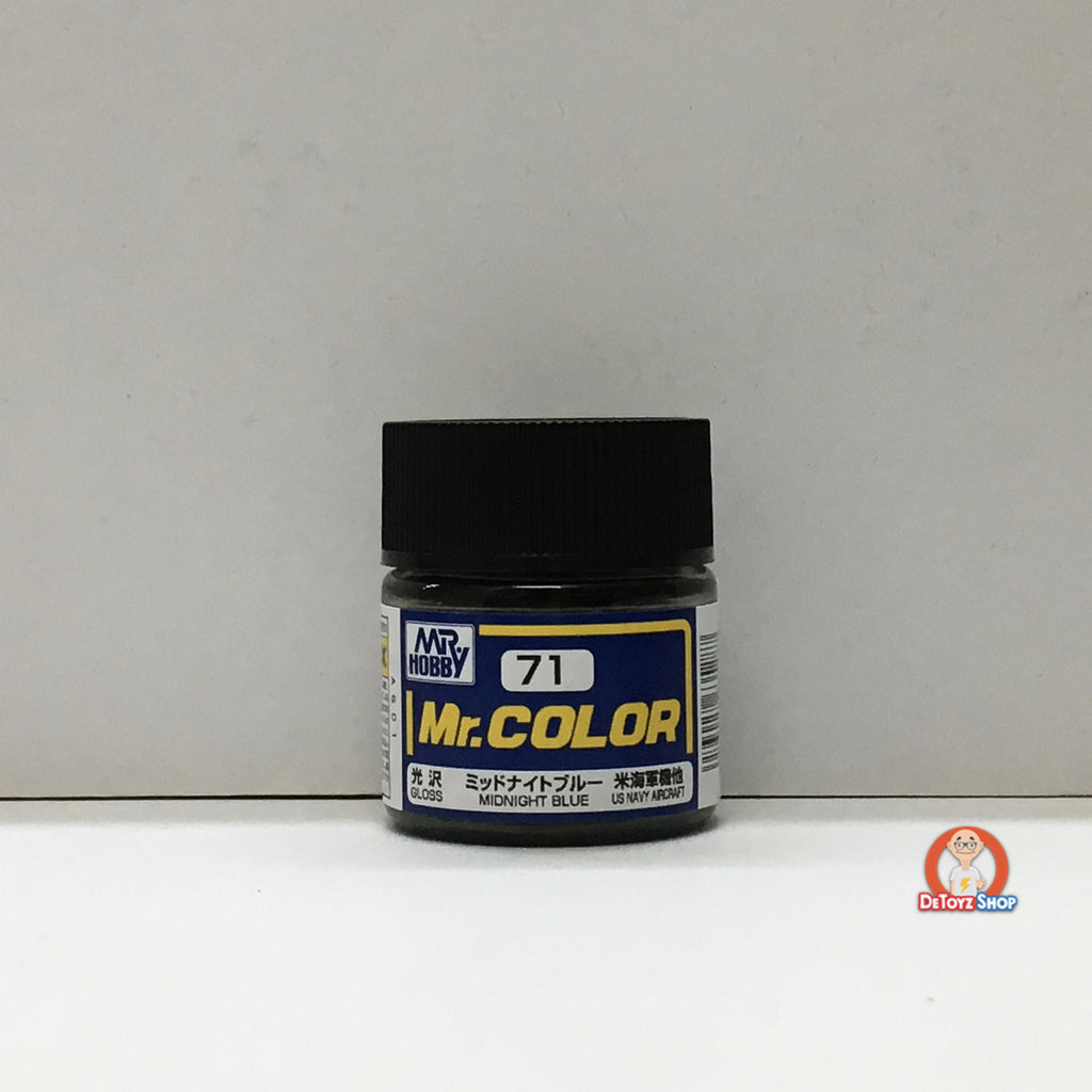 Mr Color C-71 Midnight Blue Gloss (10ml)