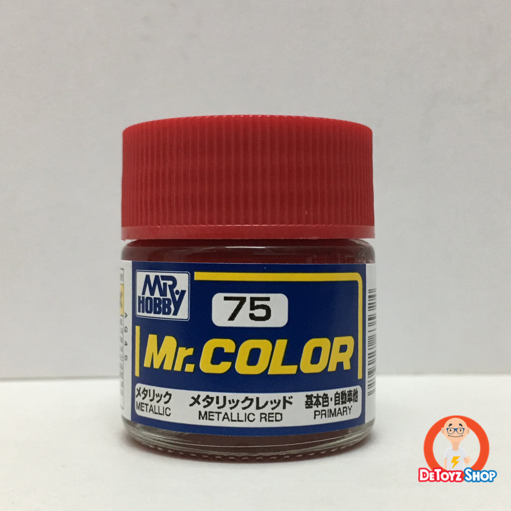 Mr Color C-75 Metallic Red Metallic Primary (10ml)
