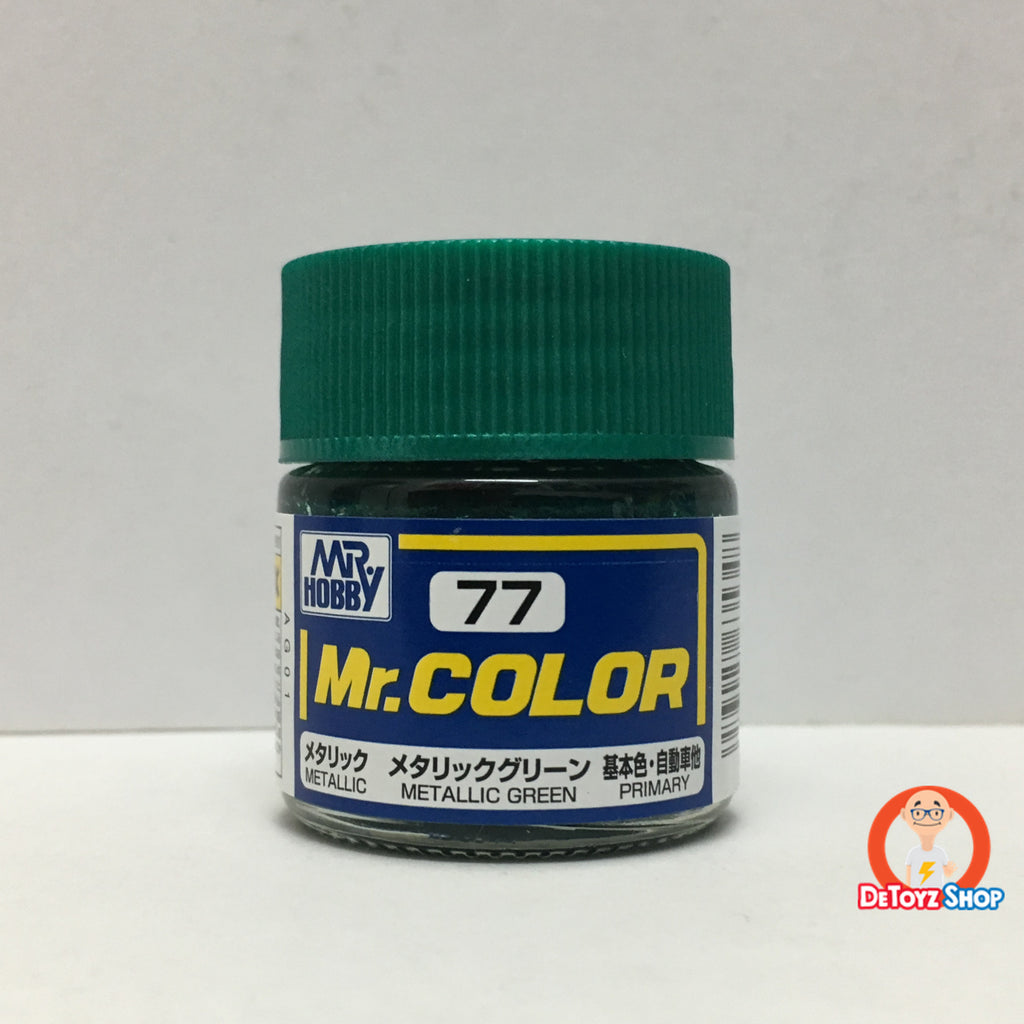 Mr Color C-77 Metallic Green Metallic Primary (10ml)