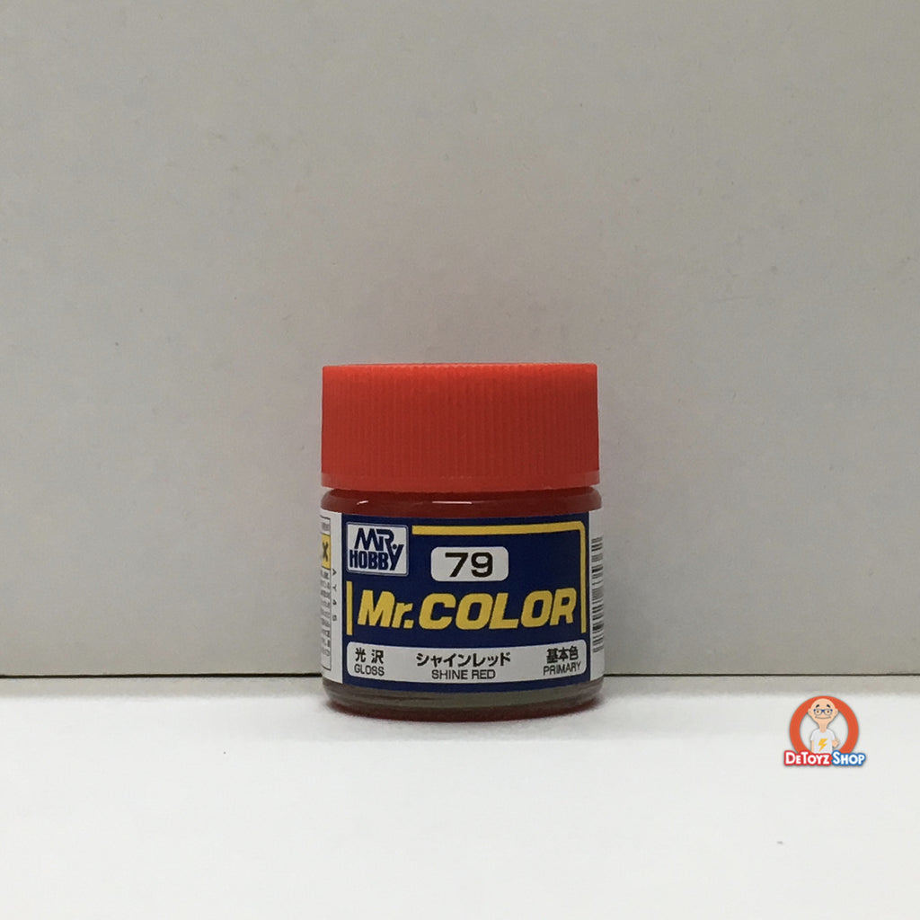 Mr Color C-79 Shine Red Gloss Primary (10ml)
