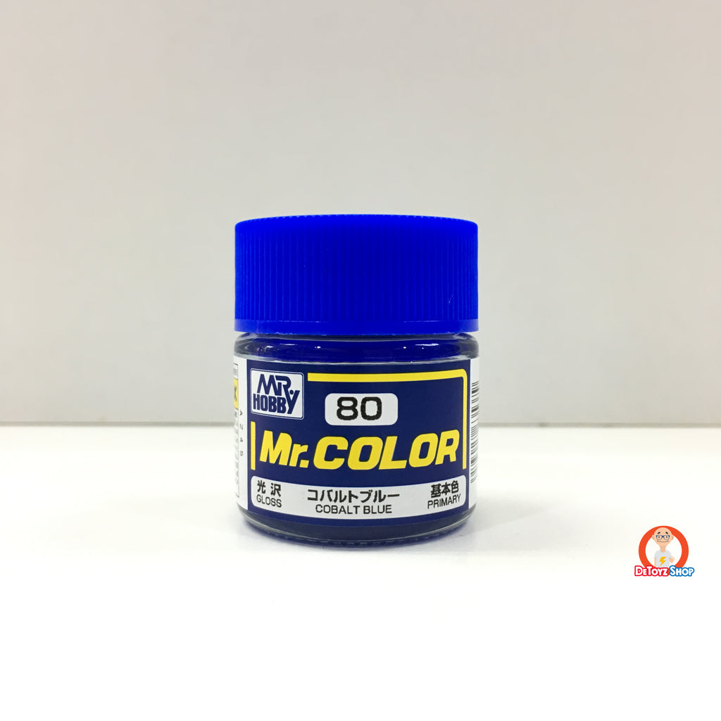 Mr Color C-80 Cobalt Blue Gloss Primary (10ml)