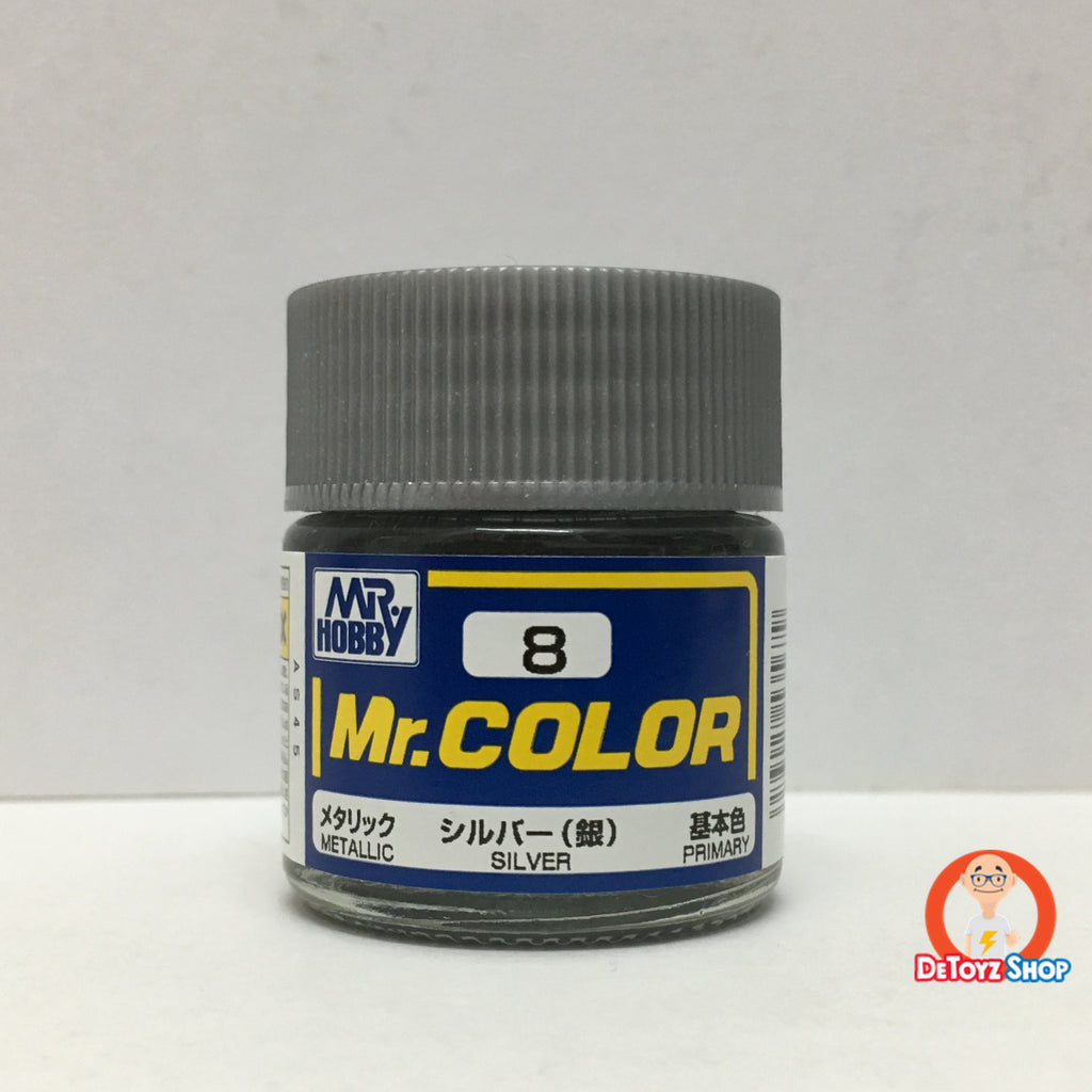 Mr Color C-8 Silver Gloss Primary (10ml)