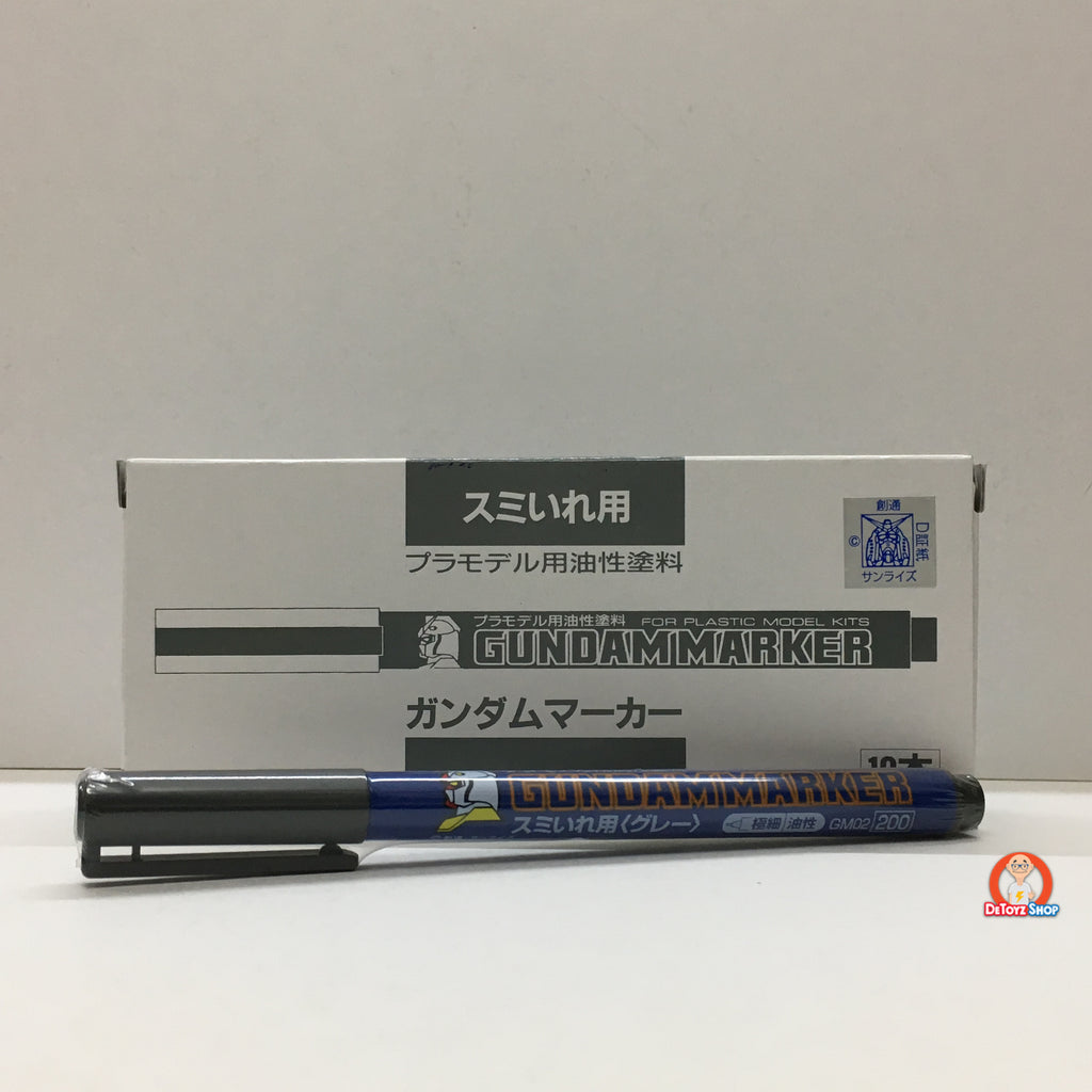 Gundam Marker Super Fine (Gray) GM02