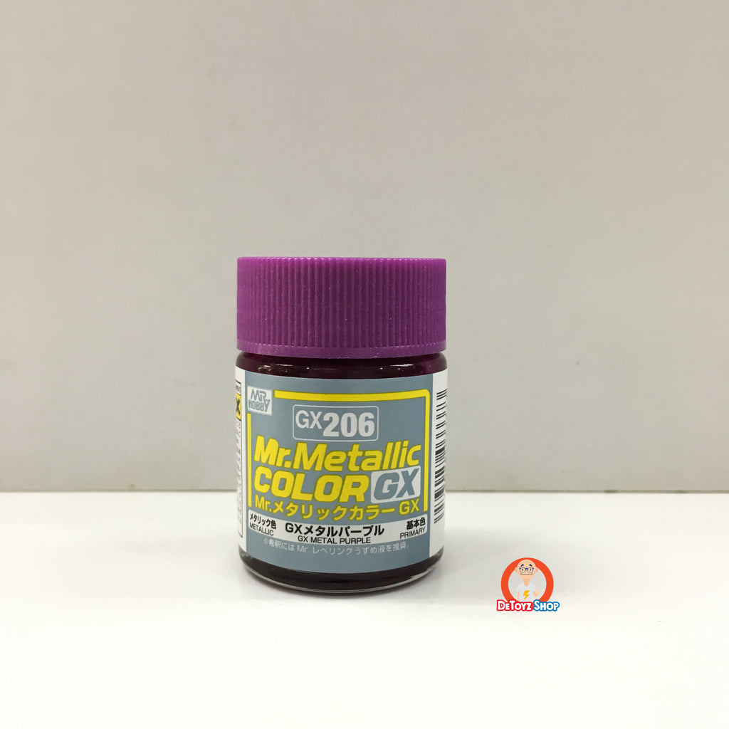 Mr Metallic Color GX-206 GX Metal Purple (18ml)