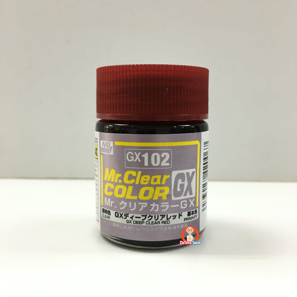 Mr Clear Color GX102 Deep Clear Red (18ml)