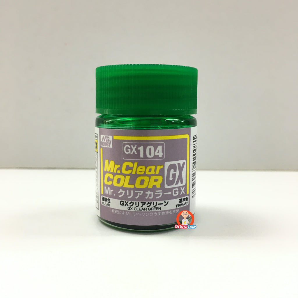 Mr Clear Color GX104 Clear Green (18ml)
