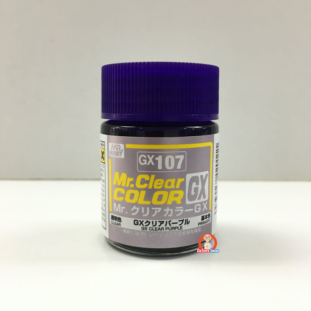 Mr Clear Color GX107 Clear Purple (18ml)