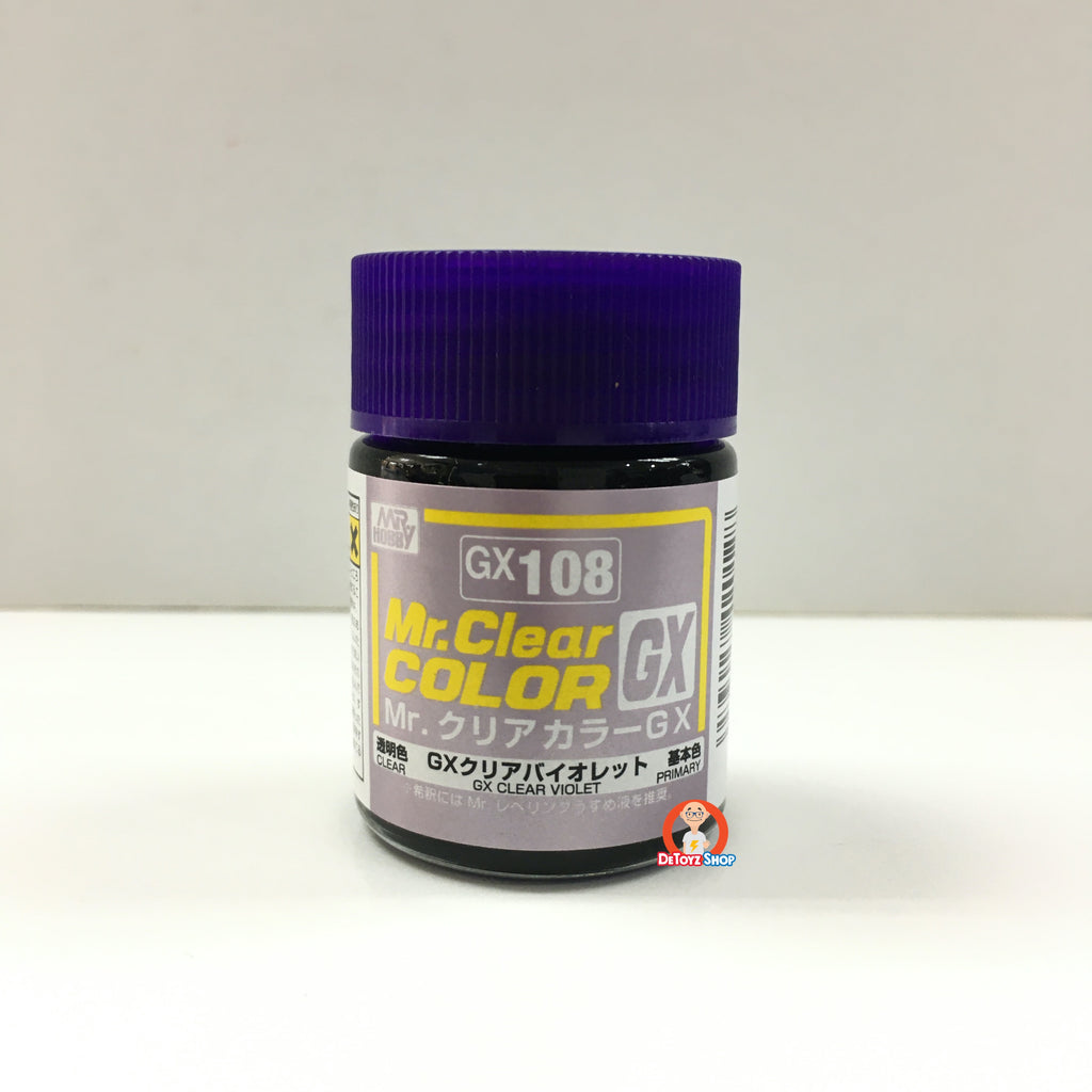 Mr Clear Color GX108 Clear Violet (18ml)