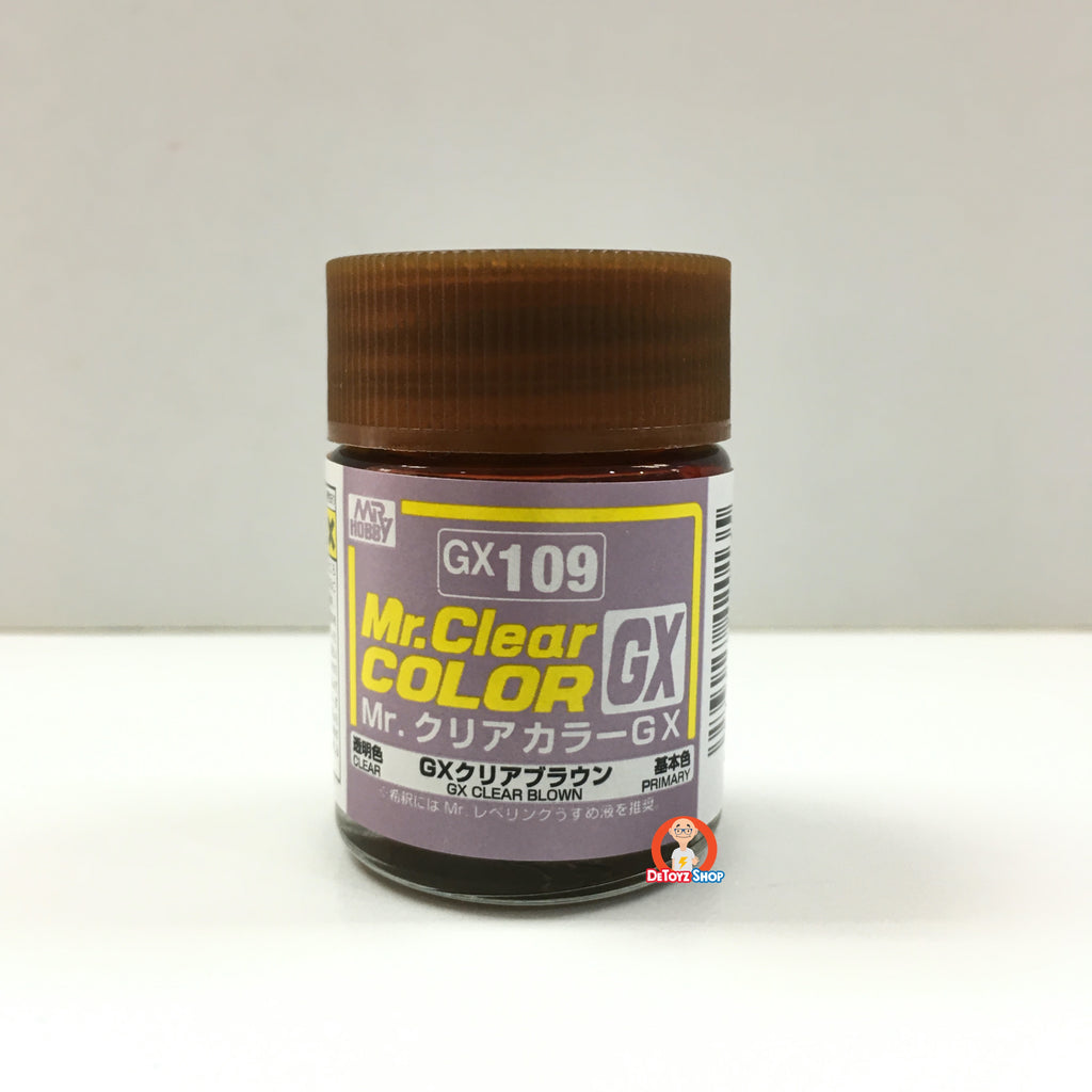 Mr Clear Color GX109 Clear Brown (18ml)