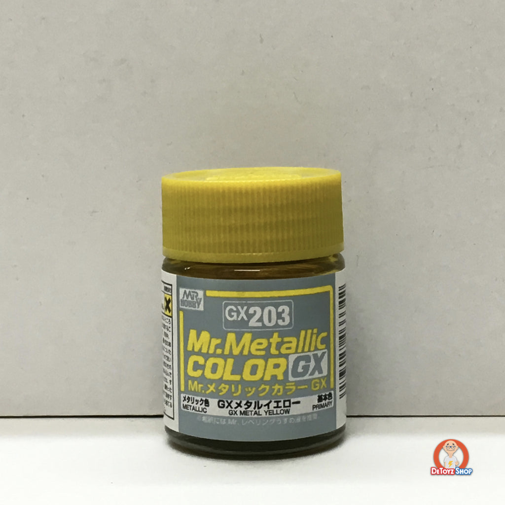 Mr Metallic Color GX-203 GX Metal Yellow (18ml)