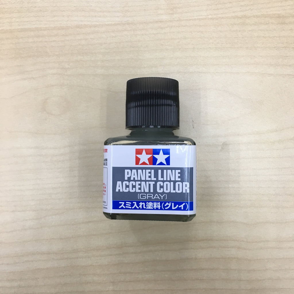 Tamiya 87133 Panel Line Accent Color [Gray] 40ml