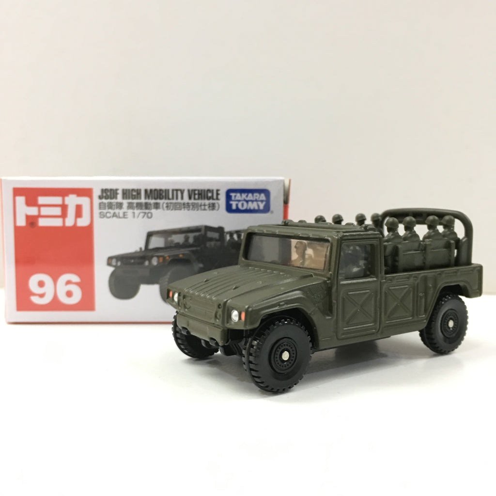 Tomica #96 JSDF High Mobility Vehicle (Initial Release)